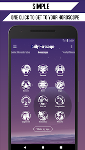 screenshot of Daily Horoscope version Varies with device