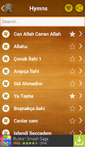 screenshot of The most beautiful hymns version 1.7