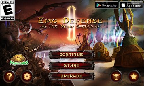 Download Epic Defense 2 - Wind Spells 1.6.5 APK