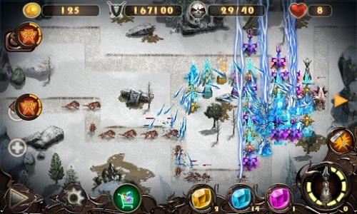 screenshot of Epic Defense 2 - Wind Spells version 1.6.5