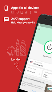 screenshot of ExpressVPN - Best Android VPN version 7.2.3