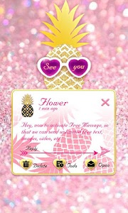 Download (FREE) GO SMS PINEAPPLE THEME 1.6.60 APK
