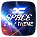 Download (FREE) X Space 2 In 1 Theme V1.1 APK