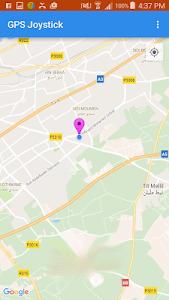 screenshot of Fake GPS joystick version 2.0