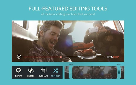 screenshot of FilmoraGo - Free Video Editor version 1.3.1