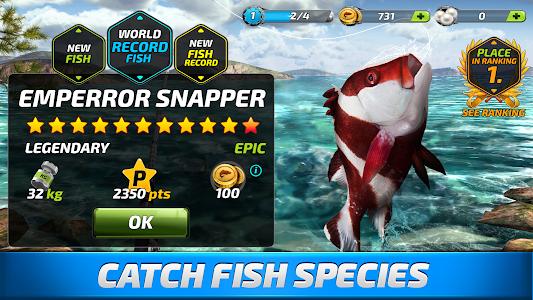 screenshot of Fishing Clash: Catching Fish Game. Bass Hunting 3D version 1.0.52