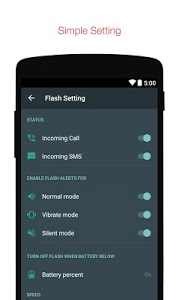 Download Flash Alerts on Call and SMS 2.3 APK