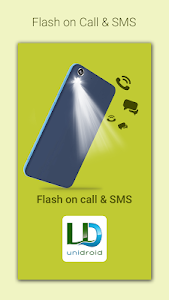 screenshot of Flash on Call and SMS version 2.0.0