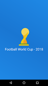 screenshot of Football World Cup 2018 - multilingual version 1.4