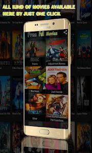screenshot of Free Full Movies version 1.0.0