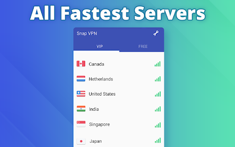 screenshot of Free VPN proxy by Snap VPN version 2.1.19