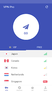 screenshot of Free VPN proxy by Snap VPN version 1.6.4