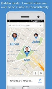 screenshot of Friend Locator : Phone Tracker version 2.91
