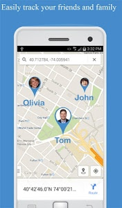 screenshot of Friend Locator : Phone Tracker version 3.48