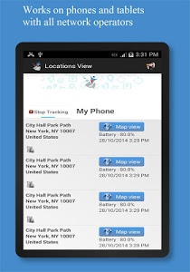 screenshot of Friend Locator : Phone Tracker version 3.43