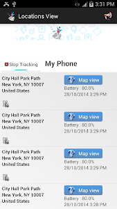 screenshot of Friend Locator version 1.66