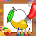 Download Fruits Coloring Book & Drawing Book - Kids Game 1.0.7 APK