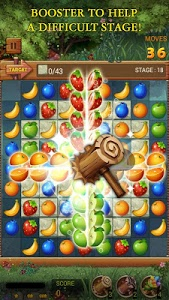 screenshot of Fruits Forest : Rainbow Apple version 1.1.5