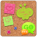 Download GO SMS Sweet Pinboard Theme 1.0.25 APK