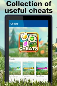 screenshot of Game Cheats for Clash of Clans version 2.0
