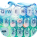 Download 3D Blue Glass Water Keyboard Theme 6.8.17.2018 APK