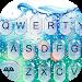 Download 3D Blue Glass Water Keyboard Theme 6.8.17.2018 APK