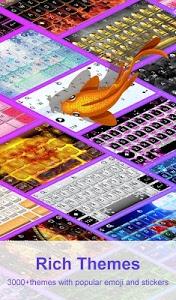 Download 3D Blue Glass Water Keyboard Theme 6.10.16.2018 APK