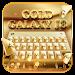 Download keyboard - Gold Galaxy S7 Edge 1.0 APK