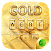 Download Gold Pro GO Keyboard Theme 4.5 APK