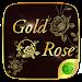 Download Gold Rose GO Keyboard Theme 4.5 APK