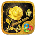 Download Golden Rose 3D Go Launcher Theme v1.0 APK