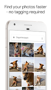 screenshot of Google Photos version Varies with device