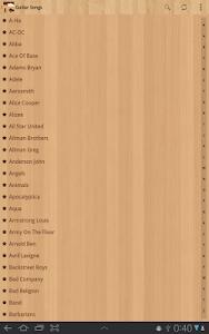 screenshot of Guitar Songs version 4.0.2