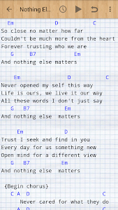 screenshot of Guitar Songs version 6.1.1