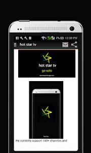Download Hot Star TV Movies Live Score 6.6 APK