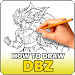 Download How to Draw DBZ - Easy 1.0 APK