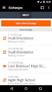 screenshot of Hudl version 4.6.34