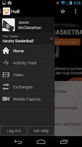 screenshot of Hudl version 4.6.1