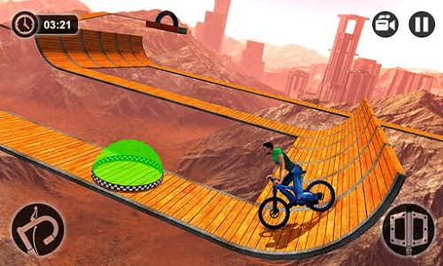 screenshot of Impossible BMX Bicycle Stunts version 1.0