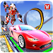 Download Impossible Car Parking Tracks Transform Robot Game 1.1 APK