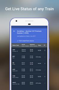 screenshot of Indian Railway - IRCTC & PNR Status version Varies with device