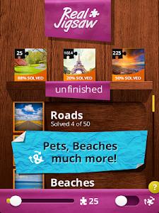 screenshot of Jigsaw Puzzles Real version 5.1.4G
