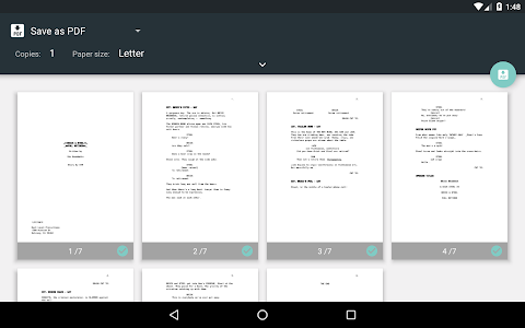 screenshot of JotterPad - Writer, Screenplay, Novel version Varies with device
