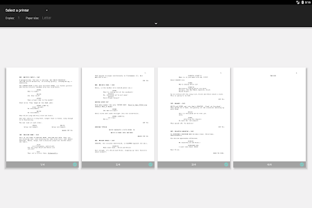 screenshot of JotterPad - Writer, Screenplay, Novel version 12.8.2-pi
