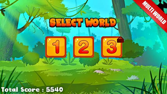 screenshot of Jungle Castle Run 2 version 1.3