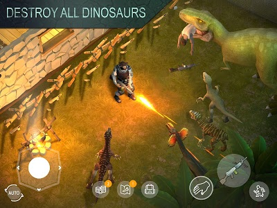 screenshot of Jurassic Survival version 1.1.27