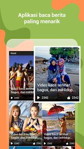 screenshot of KUBIK - BacaBerita dan Raih Pulsa version 1.5.0