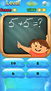 screenshot of Kids Math version 3.0.4