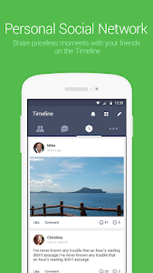 screenshot of LINE: Free Calls & Messages version 5.9.2