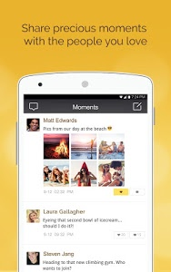 screenshot of LINK Messenger version 1.4.3